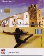 PORTUGAL TELECOM PHONECARD(CHIP) FARO-5/05-3000pcs -USED(bx1) - Portugal