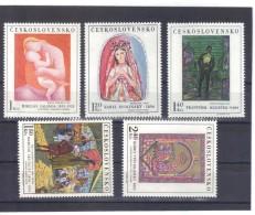 BAU977  TSCHECHOSLOWAKEI CSSR 1970  MICHL  1965/69  ** Postfrisch  SIEHE ABBILDUNG