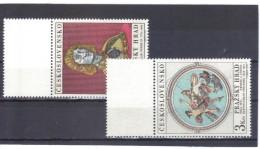 BAU979  TSCHECHOSLOWAKEI CSSR 1970  MICHL  1943/44  ** Postfrisch  SIEHE ABBILDUNG