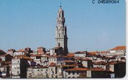 PORTUGAL TELECOM PHONECARD(CHIP) TORRE DOS CLERIGOS-5/96-33000pcs -USED(bx1) - Portugal