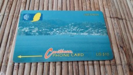 Phonecard Grenada 10CGRE Used Rare - Grenada