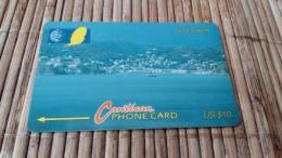 Phonecard Grenada 10CGRE Used Rare