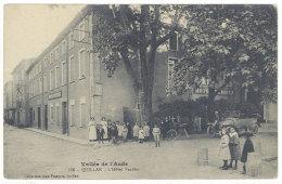 Cpa Quillan - L'Hôtel Verdier    ((S.416)) - France