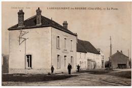 Labergement Les Seurre : La Poste (cliché Karrer, Dole - Imp. Bourgeois Frères, Chalon Sur Saône) - Other Municipalities