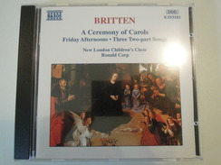 Ronald Corp, New London Children's Choir  -  Britten - A Ceremony Of Carols, Friday Afternoon, Three Two-part Songs - Klassik