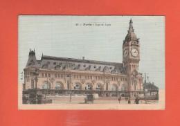 * CPA..dépt 75..PARIS 12  :  Gare De Lyon   :  Voir Les 2 Scans - Stations, Underground