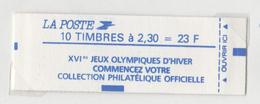 FRANCE  CARNET N°2614C10  MARIANNE DE BRIAT  JEUX OLYMPIQUES D'HIVER - Carnets