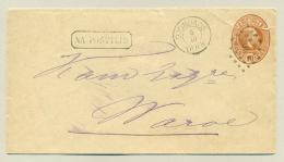 Nederlands Indië - 1888 - Puntstempel 110, Djombang Op Cover Naar Waroe / Sidoardjo - Indes Néerlandaises