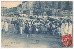 76 - LE TREPORT - L'Heure Du Bain - AB 145 - 1907 - Le Treport