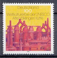 West-Duitsland - UNESCO-Welterbe (II): Alte Völklinger Hütte - MNH - M 1875 - UNESCO