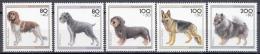 West-Duitsland - Jugend: Hundenrassen - MNH - M 1797-1801 - Honden