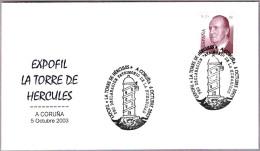 Faro TORRE DE HERCULES - Lighthouse. A Coruña, Galicia, 2003