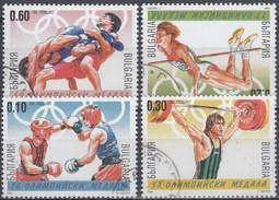 BULGARIA 1999 Nº 3828/31 DEPORTES USADO - Sellos