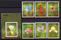 Guinea 1995 / Flowers MNH Flores Blumen Fleurs / Cu1226  31