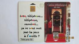 2 TELECARTES FRANCAISE DES JEUX LOTO MILLIONNAIRE - Jeux