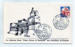 Italia - 1983 - Busta FDC - Lire 1400 - Serie Castelli D´Italia - Castello Caldoresco Di Vasto (Chieti) - (FDC1238)