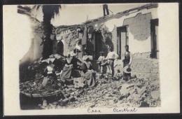 Guatemala - Ciuadad De Guatemala - Casa Central After The Earthquake. Real Photo.