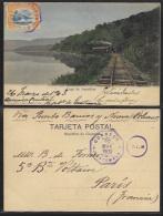 Guatemala - Lago De Amatitlan - Railway / Railroad Line. - Guatemala