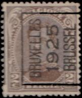 Belgique Préoblitéré . ~ YT 136 -  2 C. Albert1er - Préoblitérés