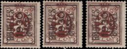 Belgique Préoblitéré . ~ YT 278 Par 3 -  3 C. Armoiries - Precancels