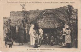 CPA AK Cote D´ Or Ghana Gold Coast Catéchisme Aux Lépreux Congrégation Soers N. D. Apotres Vénissieux Rhone Afrique - Ghana - Gold Coast