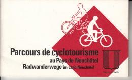 Parcours De Cyclotourisme Au Pays De Neuchâtel - Tourisme