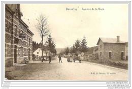 BACONFOY ..-- TENNEVILLE ..-- Avenue De La GARE . Attelage . 1910 Vers BOITSFORT ( Mme MAYERES ) .. - Tenneville
