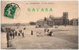 50 CHERBOURG - La Place Napoléon - Cherbourg
