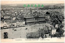 59 CAMBRAI - Panorama Nord-Est - Hotel De Ville - Cambrai