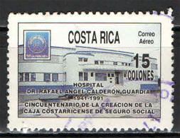 COSTARICA - 1991 - SICUREZZA SOCIALE - USATO - Costa Rica