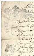 Cachet Genéralité Document 1692 - Manuscrits