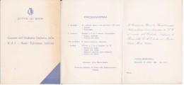 INVITO CITTA' DI BARI - TEATRO PETRUZZELLI 1968 - Partecipazioni