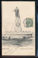 Egypte --  Port Said -- Monument De Lesseps - Port-Saïd
