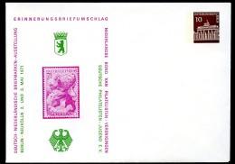 BERLIN PU40 D2/009 Privat-Umschlag AUSSTELLUNG NIEDERLANDE** 1968  NGK 6,00 € - Berlin (West)