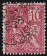France   .   Yvert     112           .         O         .       Oblitéré