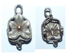 ANCIEN COULISSEAU DE SAUTOIR POUR MONTRE GOUSSET ARGENT 19e - Necklaces/Chains