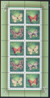 Kazakistan 1996 Unif.141/44 Minifoglio Da 2 **/MNH VF - Kazakistan