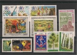 NOUVELLE CALÉDONIE  P.A. Année 1984 N°Y/T :236/246** Côte 48,80 € - Poste Aérienne