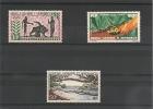 NOUVELLE CALÉDONIE Années 1964 P.A. N°Y/T :74/76** Côte : 37 €++ - Poste Aérienne