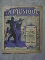 Ancienne Partition LA MUSIQUE N° 60 Dimanche 15 Mars 1914 - Par EDITEURS