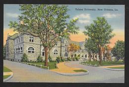 Street View Tulane University New Orleans Louisiana Unused C1937 STK#93909 - Schools
