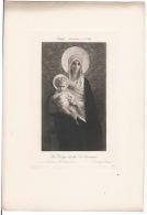 Lithographie ,La Vierge De La Délivrance - Lithographies