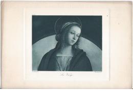 Lithographie ,La Vierge - Lithographies