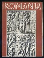 Rumania *Romania* Impreso Desplegable. Medidas Abierto: 328 X 480 Mms. - Folletos Turísticos