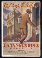 *El Repartidor. La Vanguardia Española* Navidad 1944. 32 Pags. Meds: 130 X 190 Mms. - Publicidad