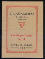Barcelona - Madrid *J. Cañameras. 1928* 24 Pags. Meds: 137 X 190 Mms. - Publicidad
