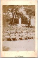 76 LE HAVRE - Statue Dans Un Parc (Photographie Contrecollée Sur CPA) - Le Havre