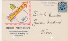 Tessenderloo ,publicité ,lampe Et Ampoule ,mazda,matintra ;Maurice Peeters-Bodard - Tessenderlo