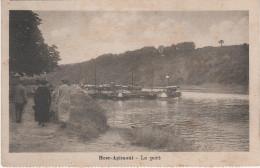 CPA - AK Heer Agimont Port Hafen Meuse Maas Ardennen Ardennes Bei Hastière Dinant Waulsort Givet Anseremme Doische Namur