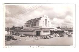 Uganda Kenya Tanganyika USED STAMPS Kenya Municipal Market Nairobi 1950s Postcard - Kenya